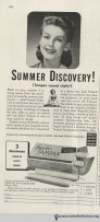 Tampax ad in Hygeia Magazine, July 1943. Click to enlarge.